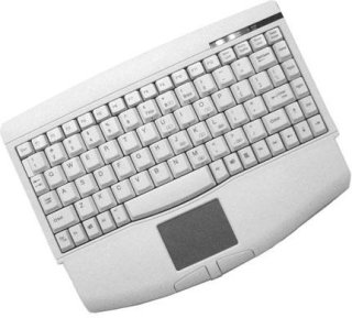 Adesso USB Mini-Touch Keyboard with Touchpad White