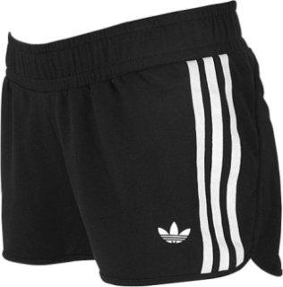 Adidas 3 Stripes French Terry Shorts
