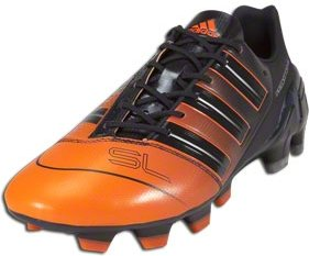 Adidas adipower Predator SL TRX - Phantom/Warning/Silver Metallic Firm Ground Soccer Shoes
