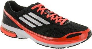 Adidas adiZero Boston 4 Black/Metallic Silver/Infrared