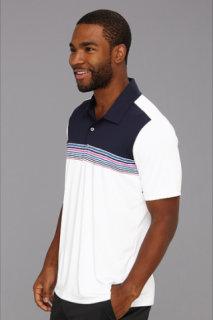 Adidas Adizero Climacool Engineered Stripe Polo