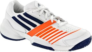Adidas adiZero Galaxy Elite 3 Junior White/Night Blue/Solar Zest