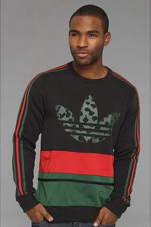 Adidas Art Fleece Crew Sweatshirt - Animal
