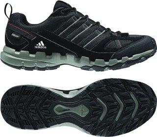 Adidas AX 1 GTX Shoes 11.5M Sharp Grey/Black/Vivid Red at SunnySports