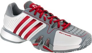 Adidas Barricade 7 Novak Djokovic White/Scarlet/Silver