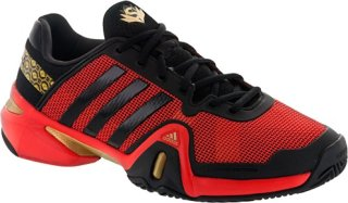 Adidas Barricade 8 Shanghai Black/Red/Gold