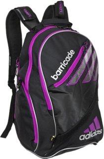 Adidas Barricade III Tour Backpack Black/Silver/VibrantPink