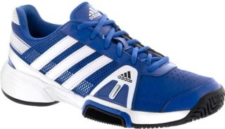 Adidas Barricade Team 3 Junior Blue Beauty/White/Metallic Silver