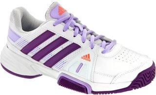 Adidas Barricade Team 3 Junior White/Tribe Purple/Glow Orange