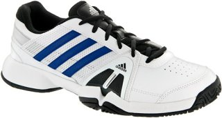 Adidas Barricade Team 3 White/Blue Beauty/Metallic Silver