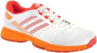 Adidas Barricade Team 3 White/Coral/Joy Orange