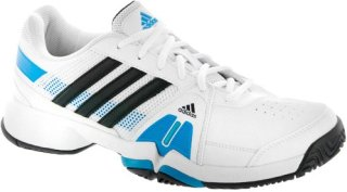 Adidas Barricade Team 3 White/Night Shade/Solar Blue