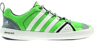 Adidas ClimaCool Boat Lace Water Shoes Green Zest