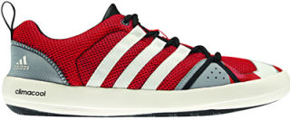 Adidas ClimaCool Boat Lace Water Shoes Vivid Red