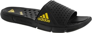 Adidas ClimaCool Revo Slide Black/Vivid Yellow
