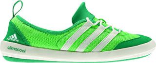 Adidas ClimaCool Sleek Boat Lace Water Shoes Green Zest