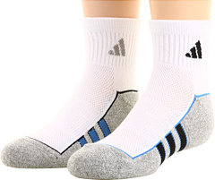 Adidas ClimaLite 2-Pack Quarter