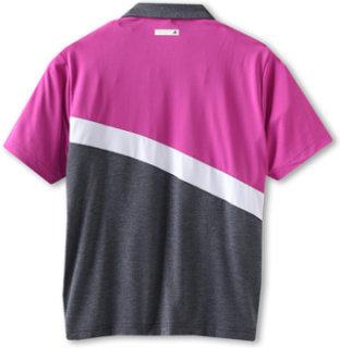 Adidas ClimaLite Angular Colorblocked S/S Polo