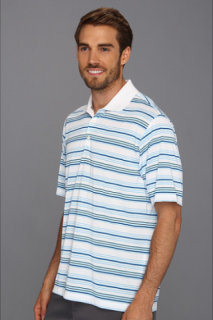 Adidas ClimaLite Multi Stripe Polo