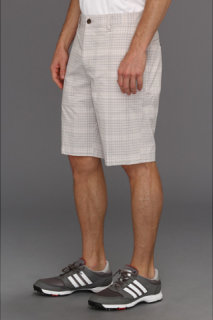 Adidas ClimaLite Neutral Plaid Short
