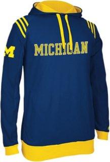 Adidas College 3-Stripe Pullover Hoodie