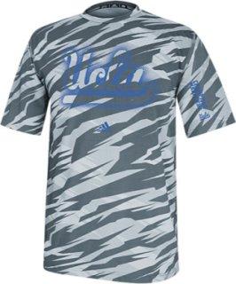 Adidas College Sideline Camo Performance T-Shirt
