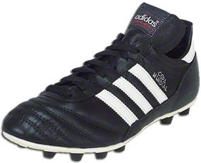 Adidas Copa Mundial - Black/White Firm Ground Soccer Shoes
