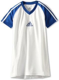 Adidas Core 3-Stripe White Top