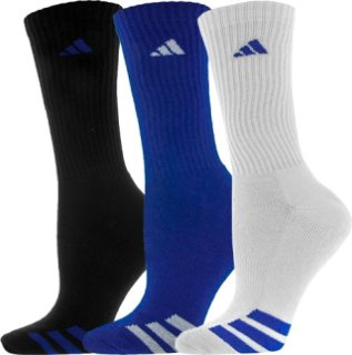 Adidas Cushioned 3 Stripe Crew 3 Pack Color