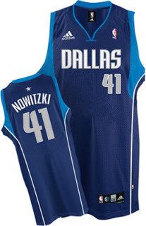 Adidas NBA Mavericks Dirk Nowitzki Swingman Jersey