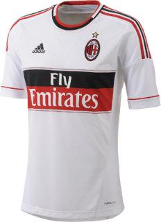 Adidas AC Milan Away Jersey