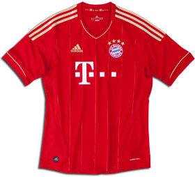 Adidas Bayern Munich Home Jersey 11/13