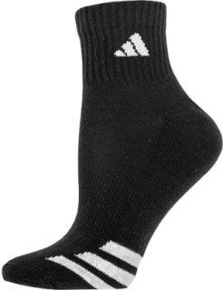 Adidas 3-Stripe 3 Pack Quarter Socks