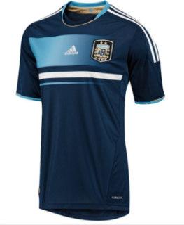 Adidas FC Short Sleeve Argentina Away Jersey