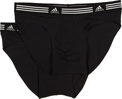 Adidas Athletic Stretch ClimaLite 2-Pack Sport Brief