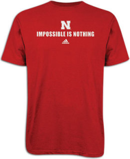 Adidas College Impossible Is Nothing T-Shirt