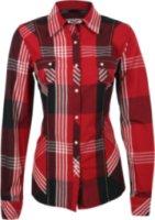Adiktd Contemporary Plaid Long Sleeve Western Shirt