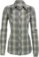 Adiktd Long Sleeve Plaid Print Western Shirt
