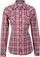 Adiktd Plaid Print Long Sleeve Western Shirt