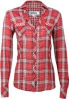 Adiktd Studded Plaid Long Sleeve Western Shirt