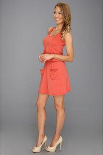 Allen Allen 2 PKT Scoop Tank Dress