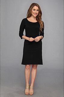 Allen Allen 3/4 Sleeve Dress