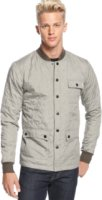 Ambig Jasper Button Front Quilted Shirt Jacket