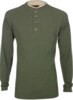 American Worker Thermal Hard Hat Long Sleeve Henley