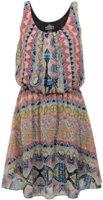 Angie Sleeveless Ethnic Print Dress