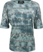 Angie Tie-Dye Sequin Shirt