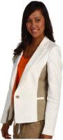 Anne Klein Contrast 1 Button Blazer