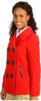 Anne Klein Solid Twill Coat