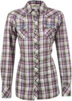 Ariat Addy Long Sleeve Plaid Print Western Shirt