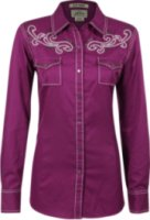 Ariat Betty Long Sleeve Solid Western Shirt